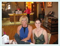 Theresa Ball And Stephanie Carter At The Green Business Awards