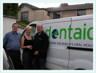 Dr Samantha Price With Dentaid Friends