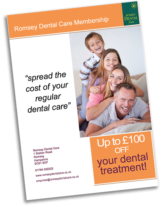 Cover Of Romsey Dental Care Membership
