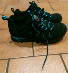new walking shoes at Romsey Dental Care