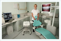 Dr Samantha Price In Dental Treatment Room