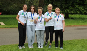 Romsey Dental Care Charity Marathon Runners